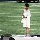 Gladys Knight Sings the National Anthem at Super Bowl 2019