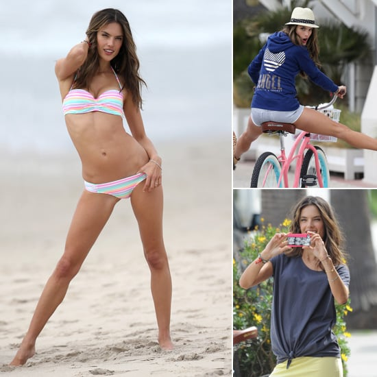 Alessandra Ambrosio Victoria's Secret Bikini Photo Shoot