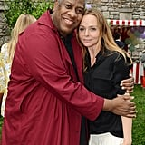 André Leon Talley was on hand for a hug.