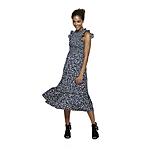 POPSUGAR at Kohl's Ruffle Smocked Midi Dress in Sprinkle Dots