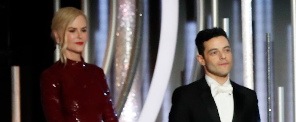 Did Nicole Kidman Snub Rami Malek at the Golden Globes?