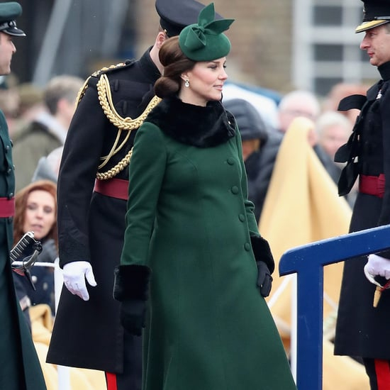 Kate Middleton's Green Catherine Walker Coat