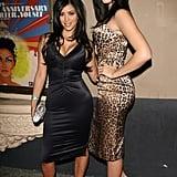 Khloé Kardashian With Dark, Layered Hair in 2006
