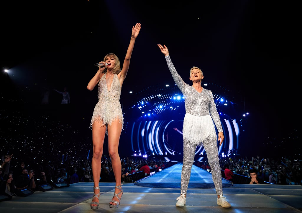 Ellen DeGeneres Joins Taylor Swift on Stage, and It's Nothing Short of Amazing