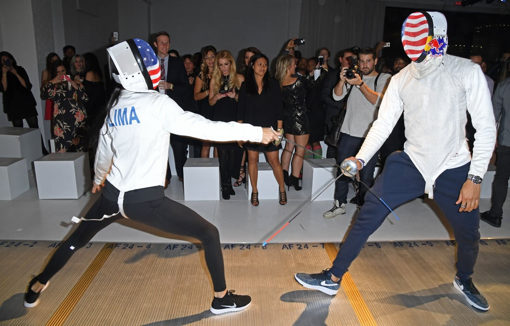 Adriana Lima Fencing Pictures December 2016