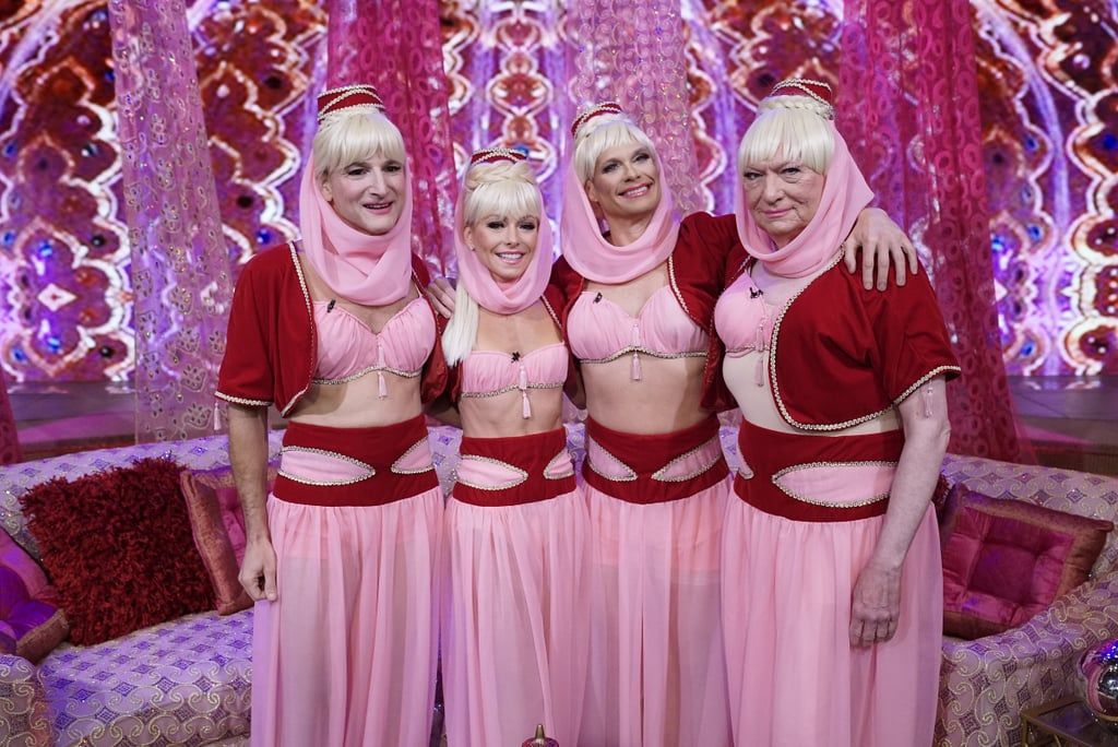Michael Gelman, Kelly Ripa, Ryan Seacrest and Art Moore all got in on the I Dream of Jeannie reboot action.