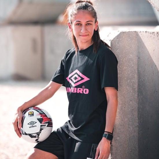 شابة إماراتية تدخل موسوعة غينيس لمهارتها الخاصة في كرة القدم