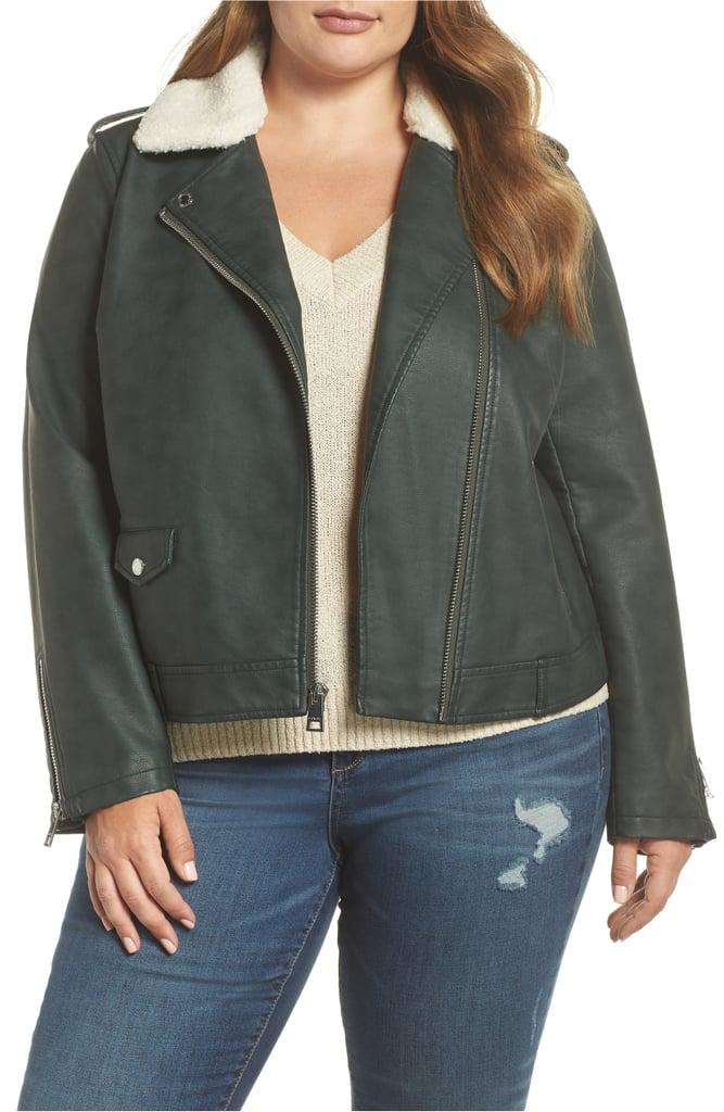 e437970157a49 Levi s Faux Leather Moto Jacket