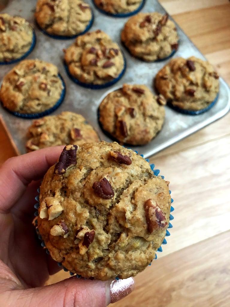 Stevia-Sweetened Banana Protein Muffins
