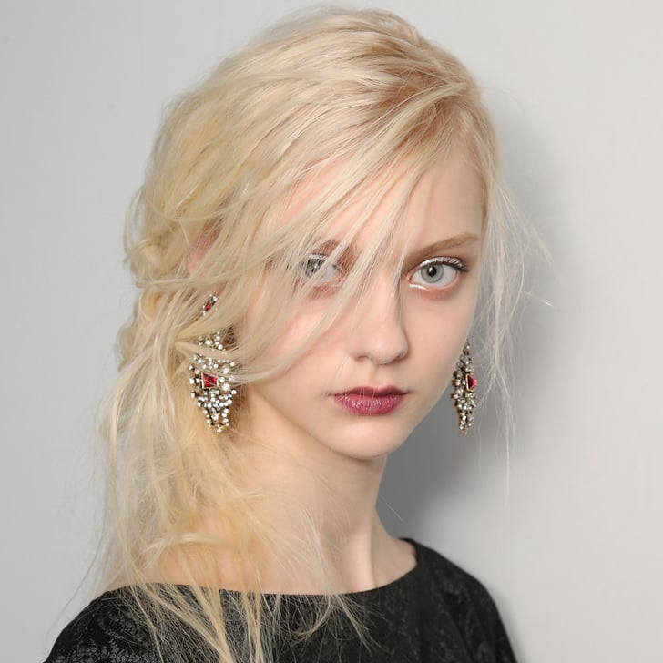 Tadashi Shoji Hair and Makeup | Fashion Week Fall 2013