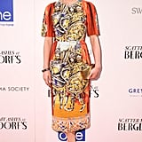 Tabitha Simmons wore Dolce & Gabbana at the premiere of Scatter My Ashes at Bergdorf Goodman in New York. Source: Matteo Prandoni/BFAnyc.com