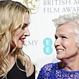 With Dame Julie Walters