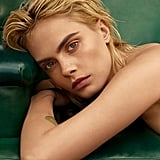 Cara Delevingne's Freckles on Marie Claire September Cover