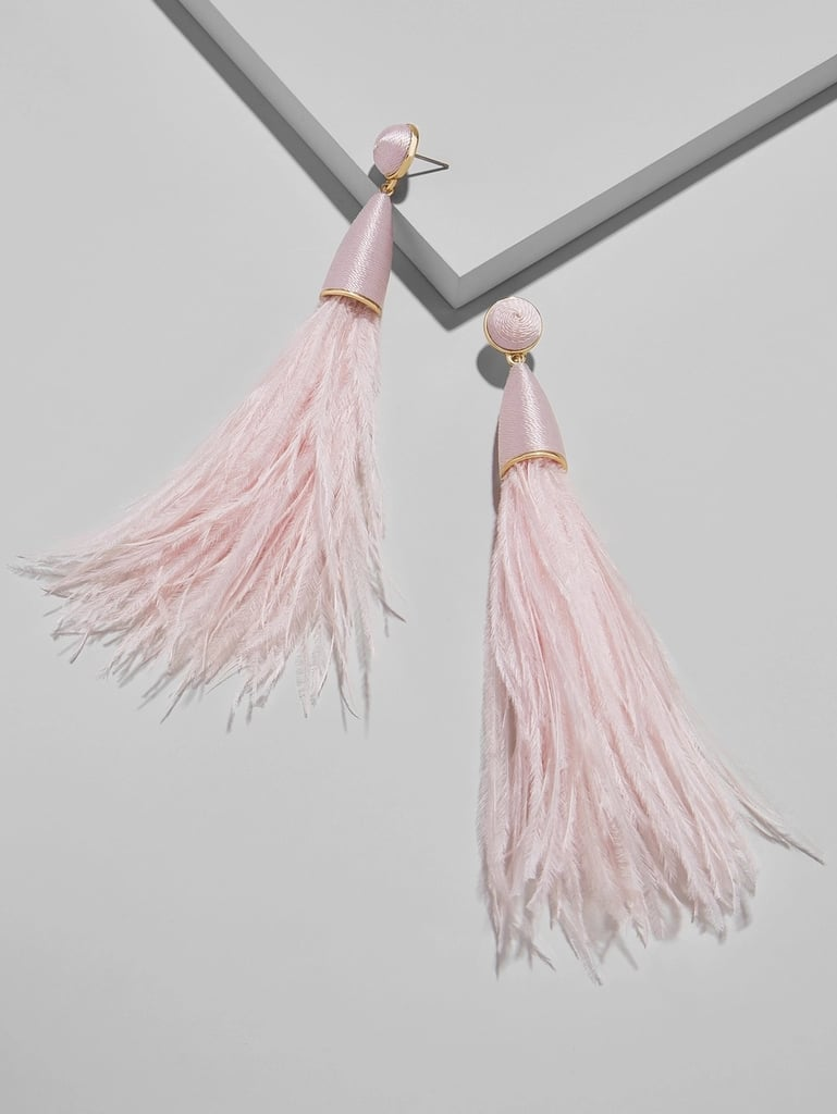 Chateau Feather Earrings
