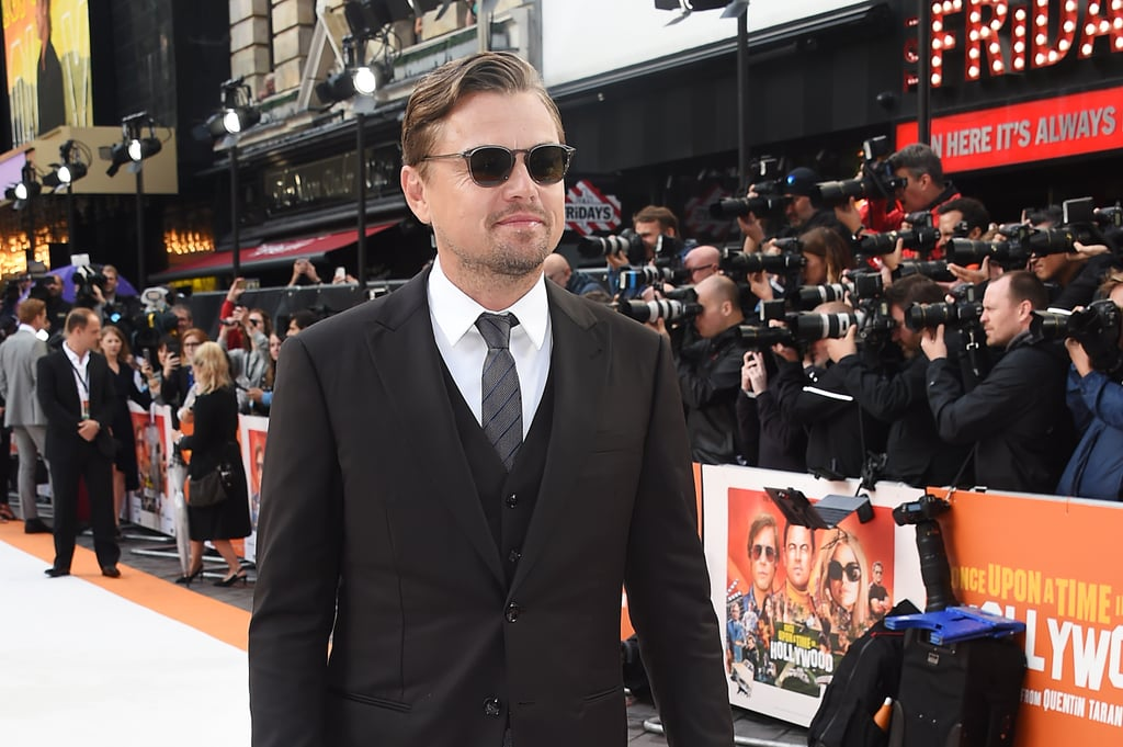 Leonardo DiCaprio at the UK premiere of Once Upon a Time in Hollywood.