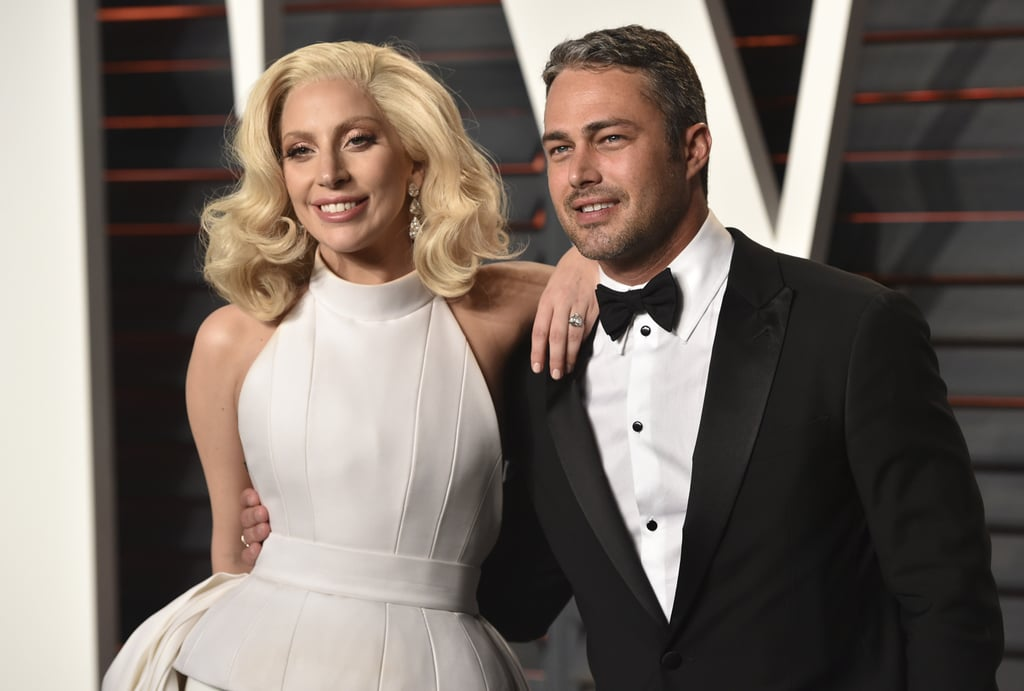 "Lady Gaga still has a huge fan in former fiancé Taylor Kinney. The 37-year-old Chicago Fire actor recently praised his ex and her role in A Star Is Born in an interview with Us Weekly, saying he ""couldn't be more proud.""  ""I know what went into it, it's been a long time coming . . . It's been years . . .  to see what people go through to be in that, you can kind of let the masses make decisions,"" Taylor revealed. Though he hasn't had a chance to see the film he said ""I know in my heart it's gonna be great. And I know that she gave her all."" He also has a firm belief that Gaga's ""in good hands"" with director and costar Bradley Cooper. ""I know it's his directorial debut and I wish all of them the best. I hope it really does really well,"" he said. Taylor and Gaga called off their engagement back in June 2016, and she's since moved on with her agent Christian Carino, but that hasn't kept the former couple from staying close friends. After their breakup, Taylor would still hang out with Gaga's mom and attended her concerts. That's how you stay friends with an ex, folks! If you're still having trouble letting go of Taylor and Gaga's love, even two years later, keep reading to see more snaps of their cutest moments.      Related:                                                                                                           6 Men Who Wanted Lady Gaga's Bad Romance"