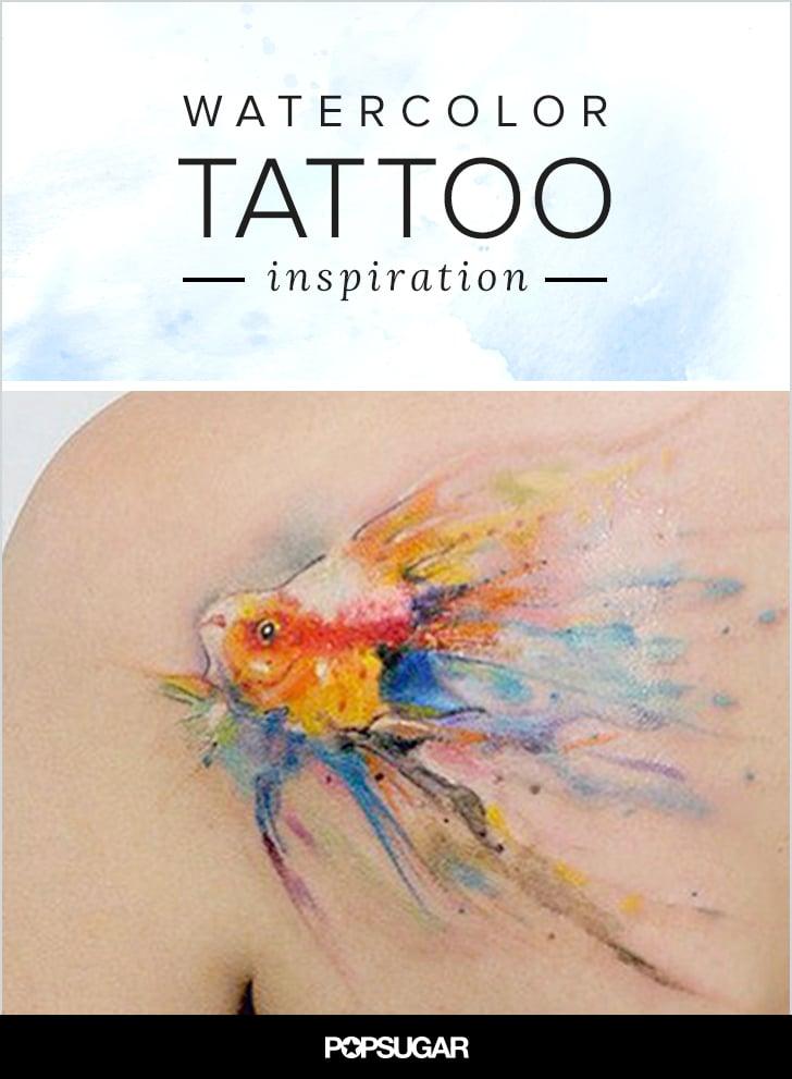 Watercolour Tattoo Ideas