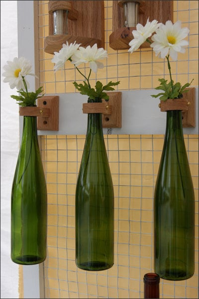 Hanging Vases Cool Uses For Wine Bottles Popsugar Smart Living