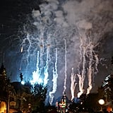 The night ends with the Believe . . . in the Holiday Magic fireworks show.