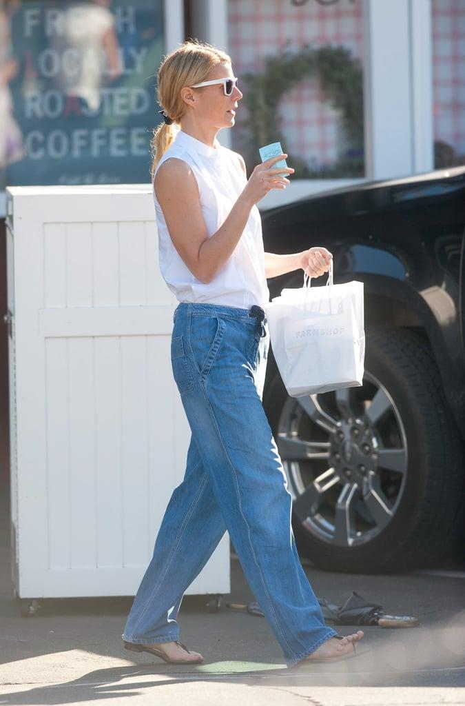 Gwyneth Paltrow Shopping in LA