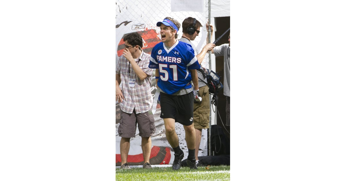 Matt Bomer Shows His Abs Playing Football in NYC Pictures ...