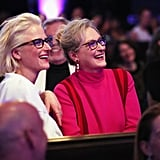 In 2017, Meryl and Mamie looked like twins when they attended the Costume Designers Guild Awards in LA.