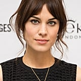 Alexa Chung has mastered the simple cat eye, and we love it paired with peach cheeks and lips like she did this week.