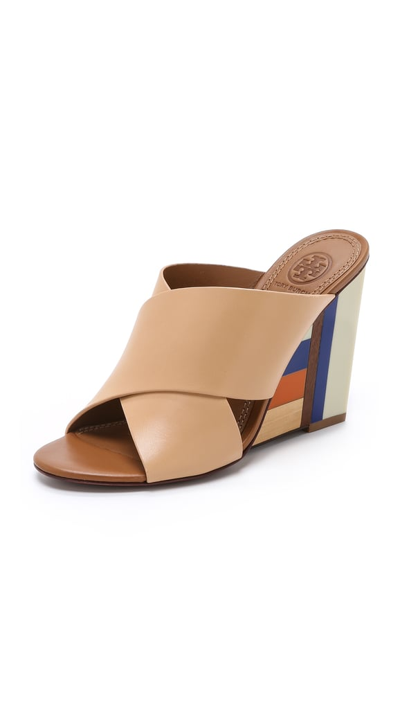 Tory Burch Color Cube Mules ($395)