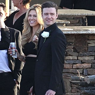 Justin Timberlake at Friends' Wedding in Tennessee