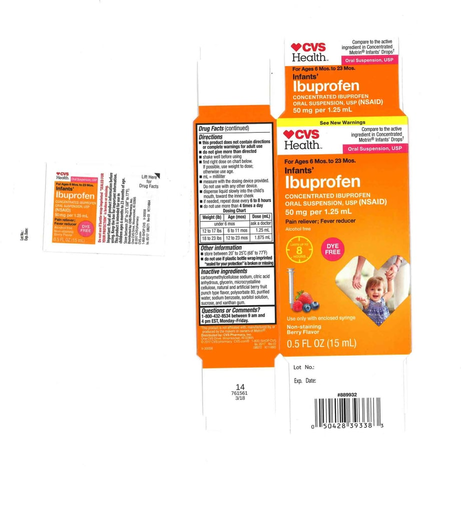 CVS Health Infant's Ibuprofen