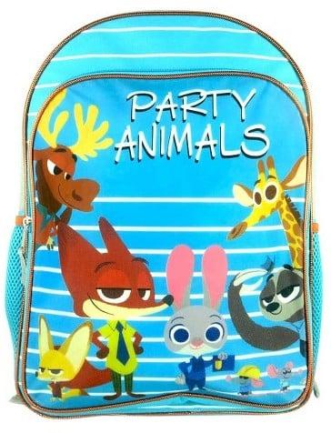 Disney Zootopia Fox Backpack With Hood