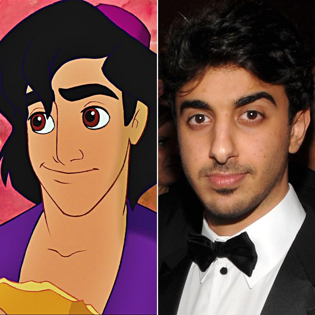 Aladdin/Sheikh Hamdan bin Mohammed bin Rashid Al Maktoum of