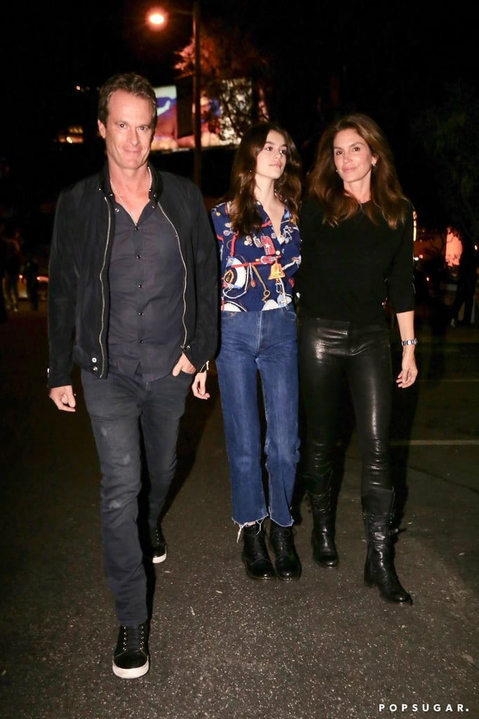 Kaia Gerber Looks Like Her Mom Cindy Crawford's Mini Me —Especially in Those Boots