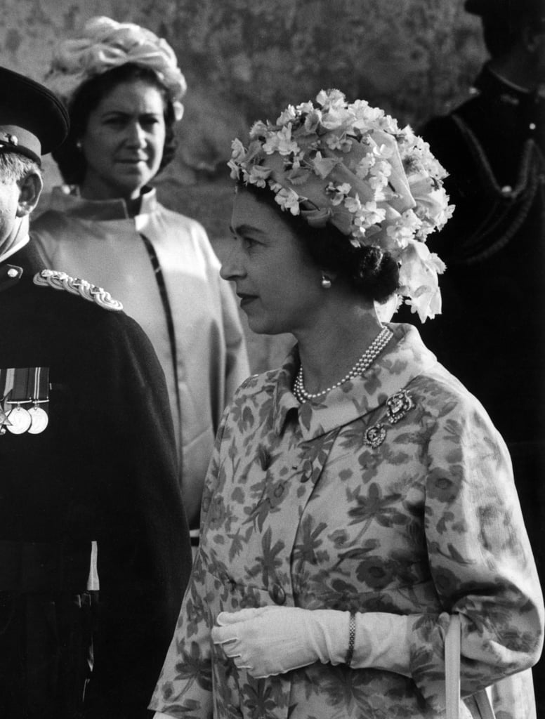 The Queen in Malta, 1967.