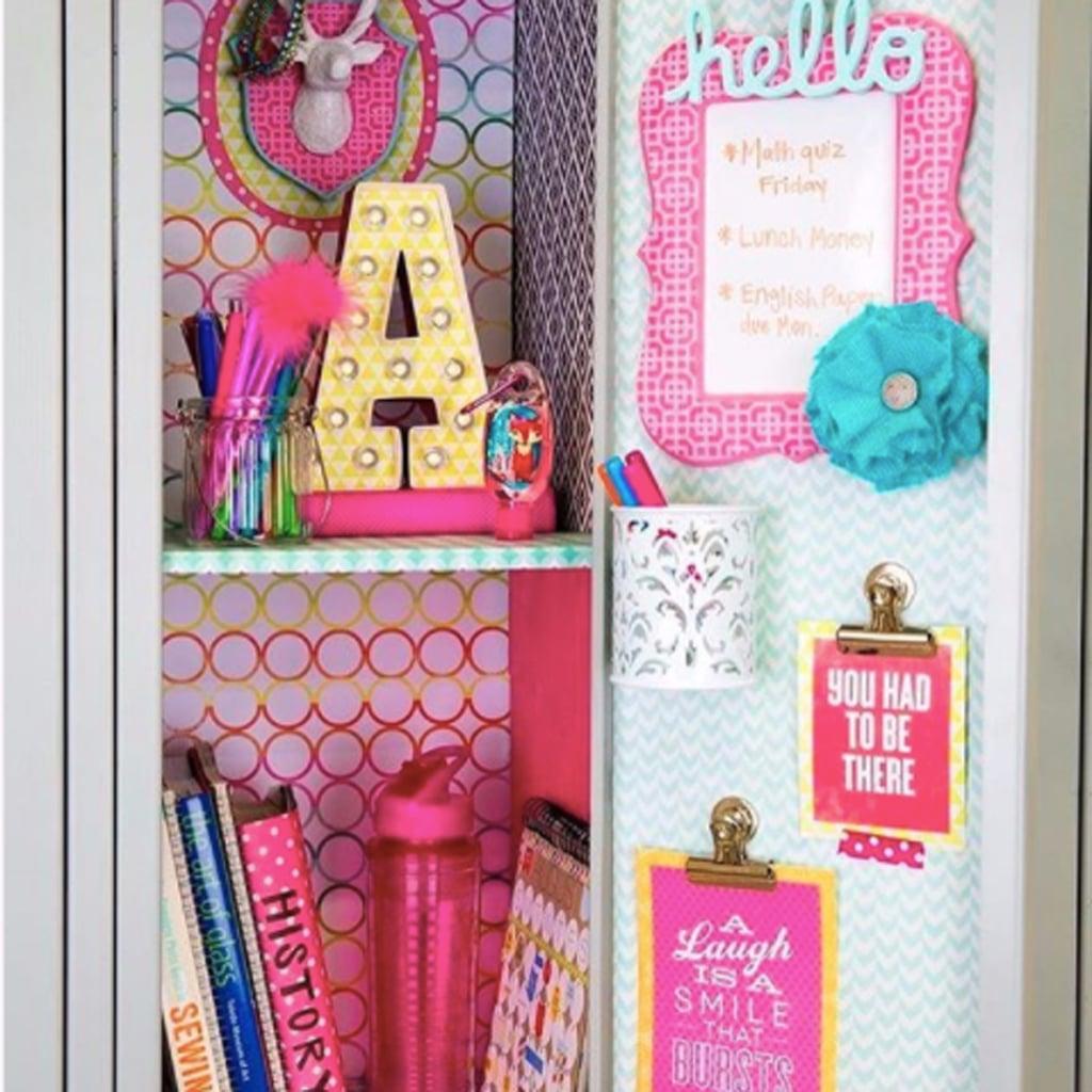 Ideas To Decorate Your Kid S Locker Popsugar Family