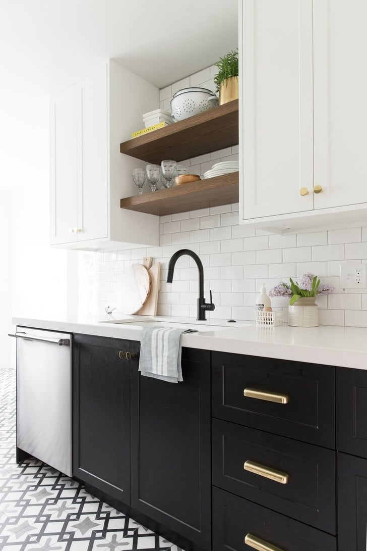 kitchen shelves and cabinets quot flush inset shaker cabinets are always a idea the best kitchen cabinet style popsugar 2499