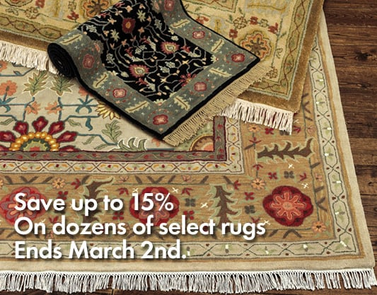 Sale Alert: Ballard Designs Annual Rug Event