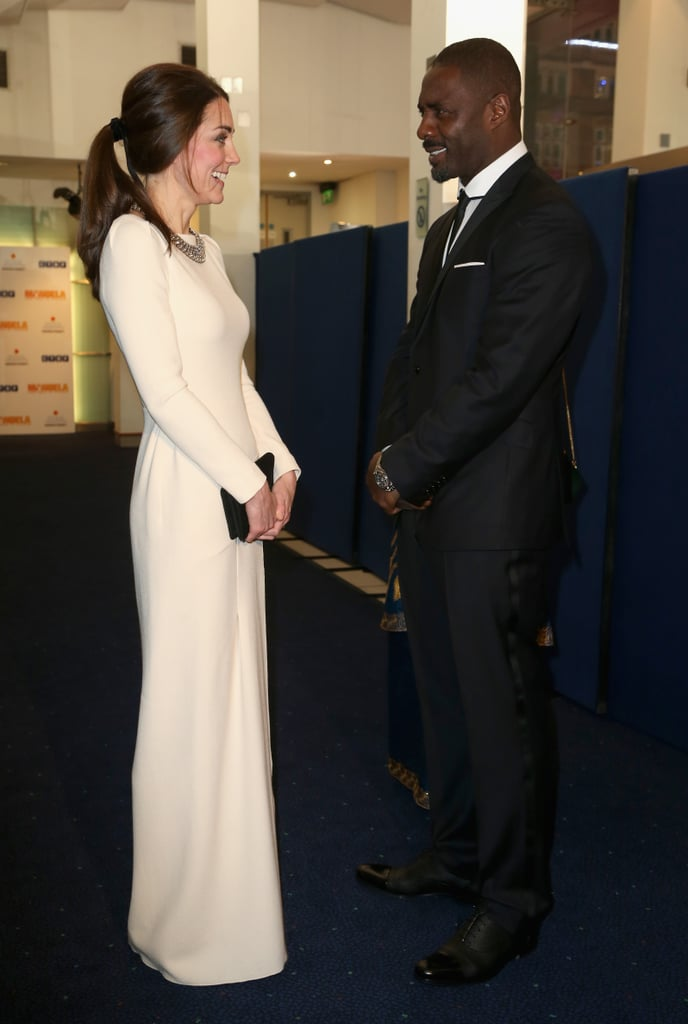 With the Duchess of Cambridge