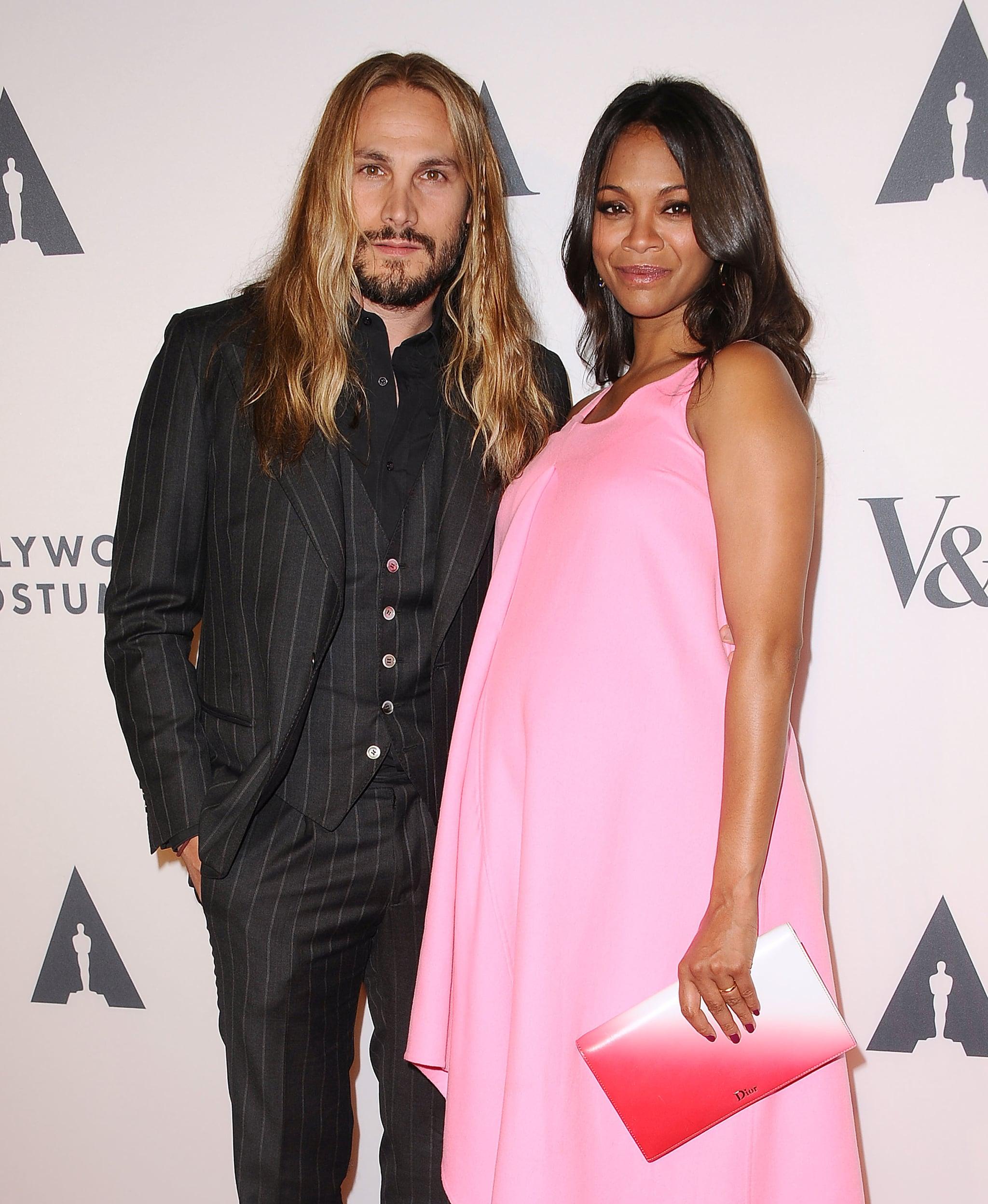 On Wednesday Zoe Saldana And Her Husband Marco Perego