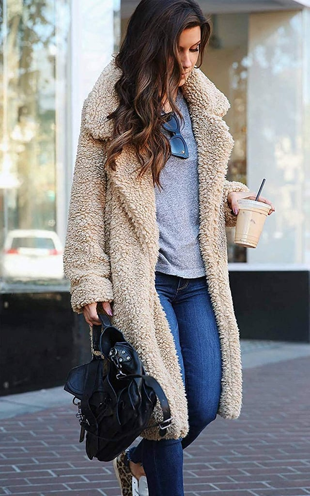 Zhenwei Fuzzy Fleece Coat