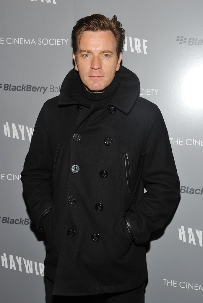 Ewan McGregor was on hand for the NYC premiere of Haywire.