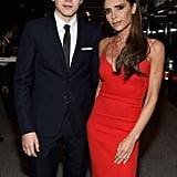 Brooklyn honoured his mum with a Glamour woman of the year award in November 2015.