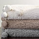 Faux Shearling Throw Blanket