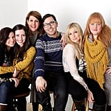 Sugar Lyn Beard, Lauren Miller, Nia Vardalos, Jamie Travis, Ari Graynor, and Katie Anne Naylon cozied up while promoting their movie For a Good Time, Call . . ..