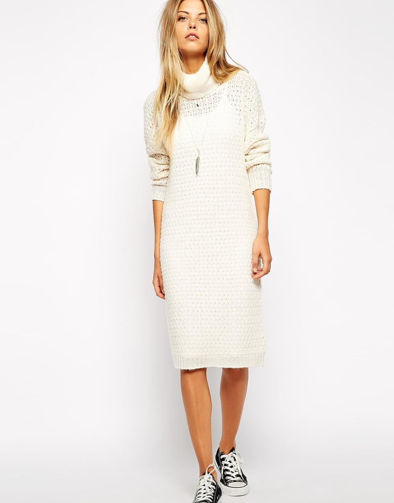 Noisy May Roll Neck Sweater Dress