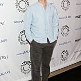 Justin Bartha kept things casual on the red carpet.