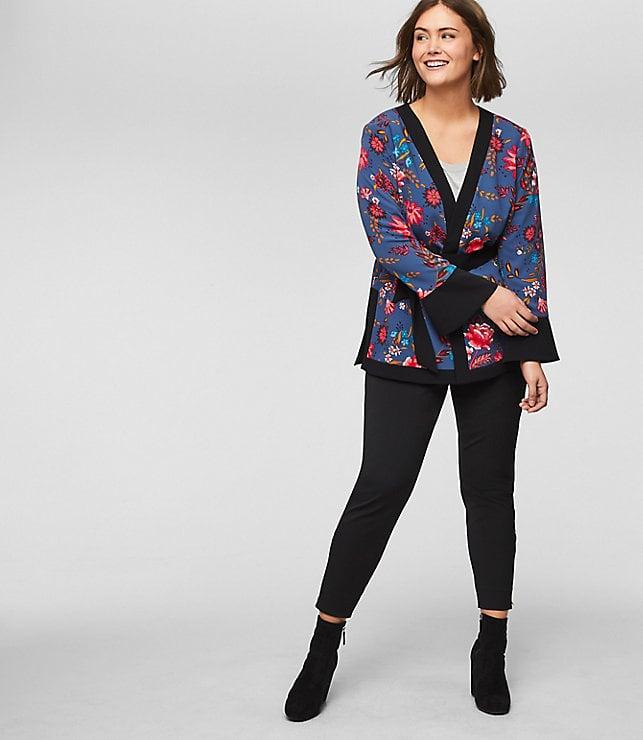 LOFT Wildflower Kimono Jacket