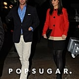 Pippa Middleton caught a ride with a male friend.