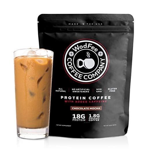 WodFee Protein Coffee in Chocolate Mocha