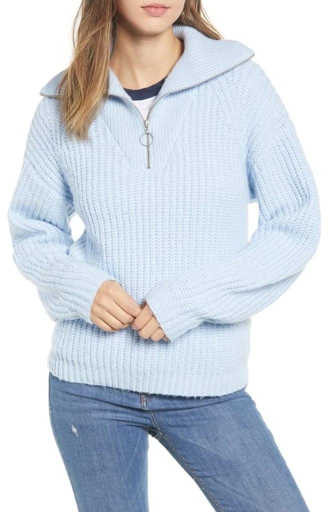BP. Quarter Zip Sweater  a7fd376d72
